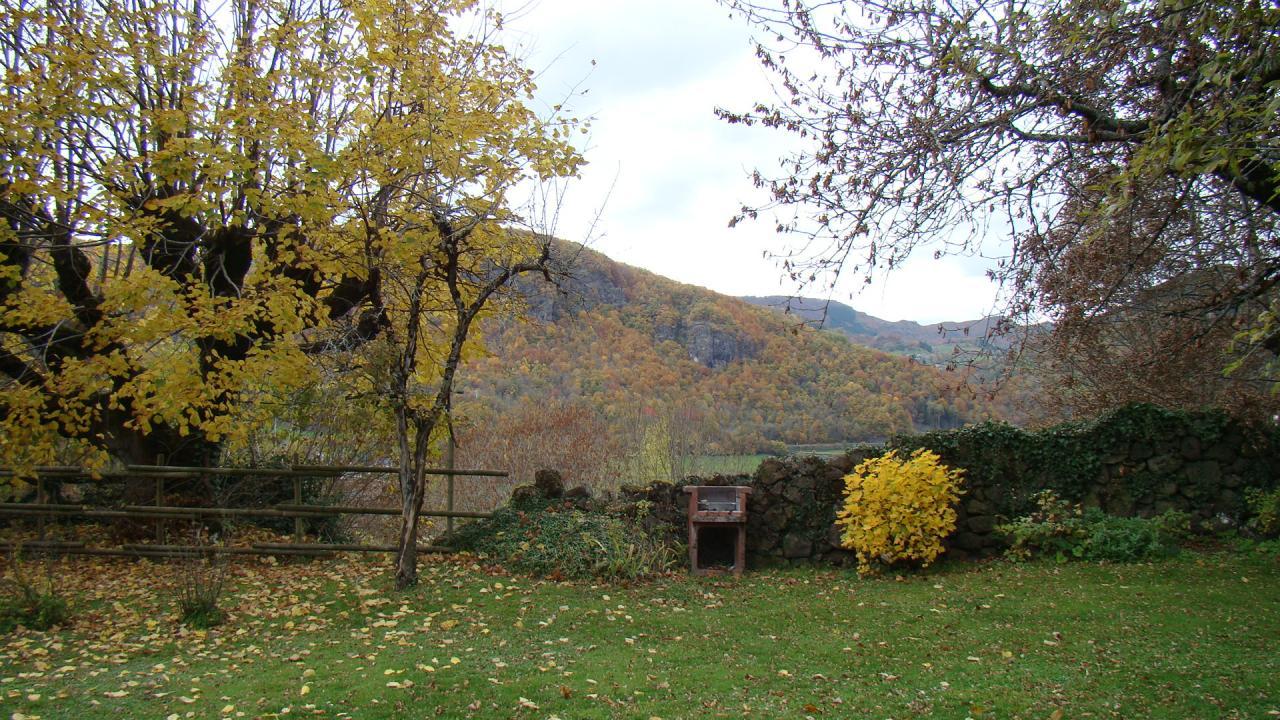 Vue du jardin nord est