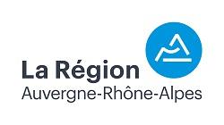 Logo regionara partenaire typo gris pastille bleu 1